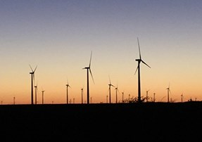 How much land does a wind energy project require?